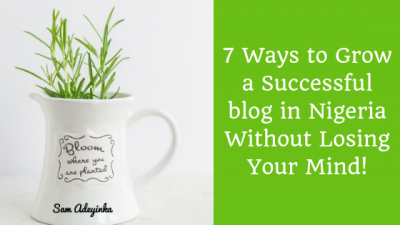 Ways to Grow a Successful Blog in Nigeria