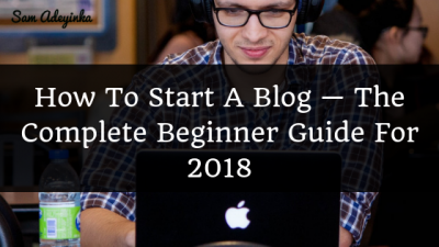 How to Starta Blog